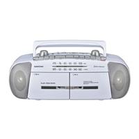 オーム電機 AudioComm ダブルラジオカセットレコーダー RCS-371Z 07-8388