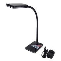 オーム電機 LEDデスクランプ ブラック DS-LS16N-K