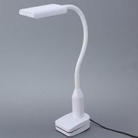 オーム電機 LEDクランプランプ LTC-LS16-W