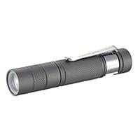 【店舗限定】オーム電機 防水LEDズームライト SPARKLED ZOOM 135lm スライドフォーカス LHA-SP412ZI-S 07-8655