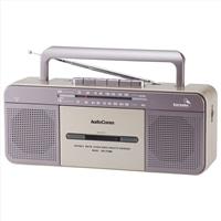 オーム AM/FM ステレオラジオカセットレコーダー RCS-S708M
