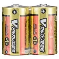 【数量限定】オーム電機 アルカリ単1乾電池2P LR20S2P