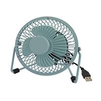 オーム電機 USB卓上ミニ扇風機 KIS-U10TP-G