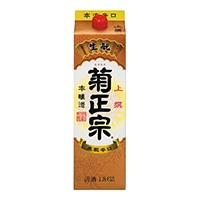 菊正宗 上撰 本醸造・さけパック 1800ml【別送品】