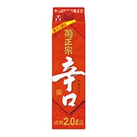 菊正宗 辛口パック 2000ml【別送品】