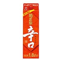 菊正宗 辛口パック 1800ml【別送品】
