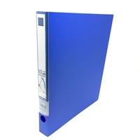 KJ A4レバ-リングファイル6672 青