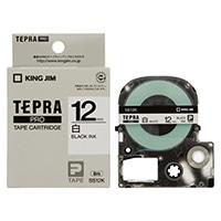 キングジム テプラ PROテープ SS12K 12mm 白