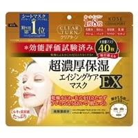 コーセーコスメポート クリアターン 超濃厚保湿 エイジングケアマスク EX 40枚