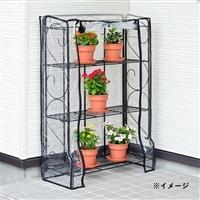折畳みフラワースタンド温室3段 OBO-110