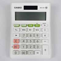 カシオ 10桁電卓 MW-100T-WE-N