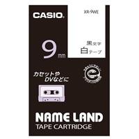 カシオ ネームランドテープ XR-9WE