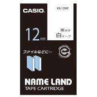 カシオ ネ-ムランドテ-プ XR-12WE