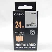 カシオ ネームランドテープ XR-24 X