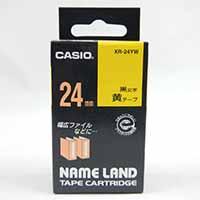 カシオ ネームランドテープ XR-24 YW