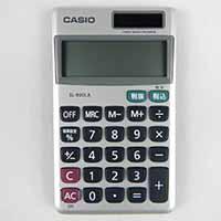 カシオ8桁手帳サイズ電卓SL-900LA-N