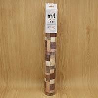 mt CASA SHEET 壁用 木の断面 460mm 角3枚入