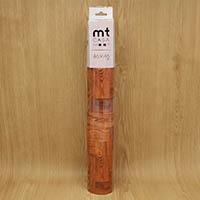 【店舗限定】mt CASA SHEET 床用 茶色木床 460mm 角3枚入