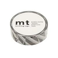 【trv】mt マスキングテープ ストライプブラック