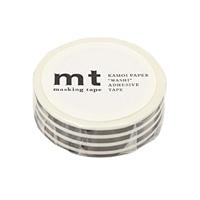 【trv】mt マスキングテープ ボーダーブラック