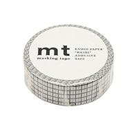 【trv】mt マスキングテープ 方眼ブラック