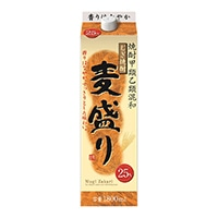 むぎ焼酎 麦盛り 25度 1800ml【別送品】