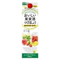 おいしい果実酒つくりましょう ホワイトリカーゴードー 35度 1800ml