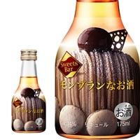 スイーツ バー モンブランなお酒 175ml 【別送品】