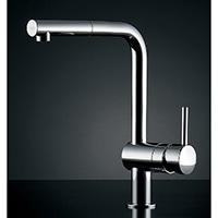 カクダイ(グローエ) シングルレバー混合栓 #GR-3216800(引出シャワー付)【一般地用】