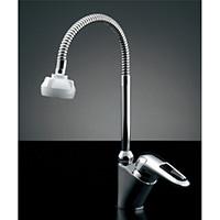 カクダイ シングルレバー混合栓 183-135(引出シャワー付)【一般地用】