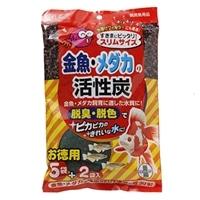 GEX 金魚・メダカの活性炭5個+2入