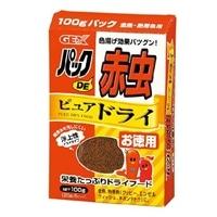 GEX パックDE赤虫 ピュアドライお徳用 100g