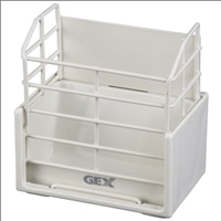 GEX牧草ボックス ホワイト