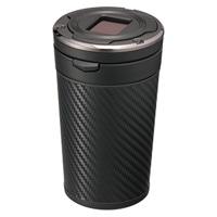 カーメイト DZ287 灰皿 SPORTS LUXURY カーボン調ブラック