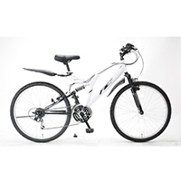 【自転車】《サギサカ》2020アメリカンイーグル WサスATB 26インチ MONTEREY ホワイト