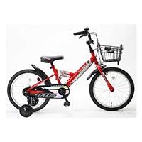 【自転車】《サギサカ》アメリカンイーグル幼児車18インチ 補助付き CODY コディ レッド