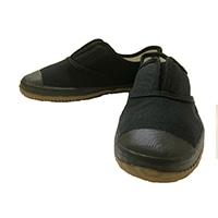 TWー205 つま先ガード付軽作業靴 黒 25.5