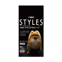 スタイルズ 犬種別 やわらか半生フード 成犬用 ポメラニアン用 1.2kg
