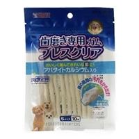ゴン太の歯磨き専用ガム ブレスクリア アパタイトカルシウム入り Sサイズ 10本