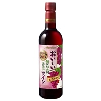 メルシャン おいしい酸化防止剤無添加赤ワイン ペットボトル 720ml【別送品】