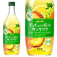 ギュギュッと搾ったサングリア 白ワイン×グレフル&パイン&オレンジ 500ml【別送品】