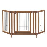 ペット用 木製おくだけドア付ゲート S