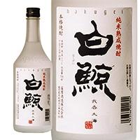 白鯨 純米熟成焼酎 25度 720ml【別送品】