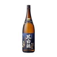 黒白波 芋 25度 瓶 1800ml【別送品】