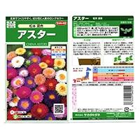 花の種 アスター 松本 混合