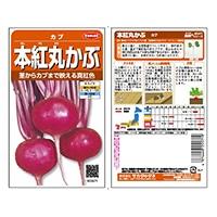 野菜の種 本紅丸かぶ