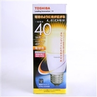 【数量限定】東芝 LED電球T形 LDT6L-G-S-40W