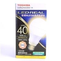 【数量限定】東芝 LED電球 LDA5L-G/40W