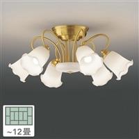 東芝 シャンデリア6灯 12畳 LEDC88005-6G