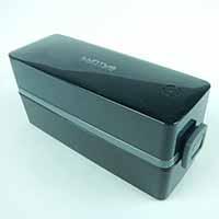 弁当箱 小容量メンズ2段ランチSS-T600バック付